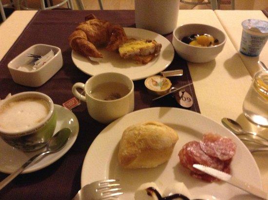 Eco-Hotel La Residenza: завтрак