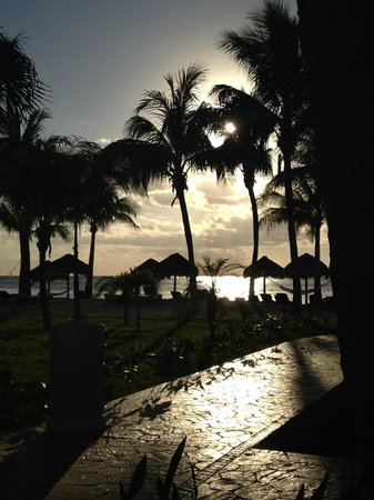 Secrets Aura Cozumel: View from my patio