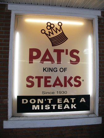 Pat's King of Steaks : Pats Oh Yeah