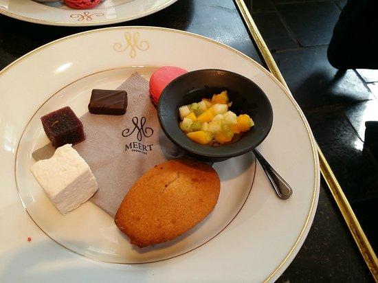 Meert Restaurant: Assiette gourmande du Brunch...