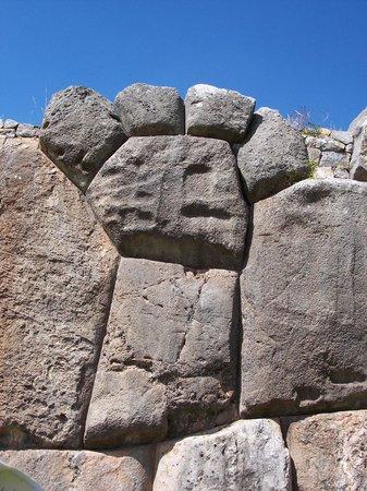 Sacsayhuamán: Panther paw