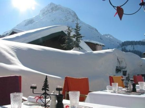 Hotel Schmelzhof: Energie tanken auf der Schmelzhof-Terrasse