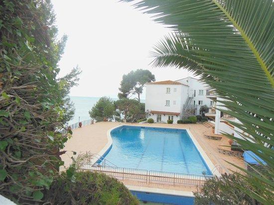 Silken Park Hotel San Jorge: vue de la piscine