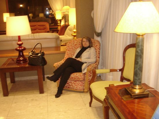 Hotel Torremayor: Recepção do hotel
