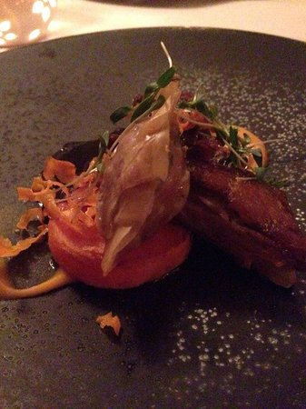 Gilpin Hotel & Lake House: Delicious mutton 3 ways