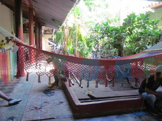 Café de las Sonrisas : Courtyard