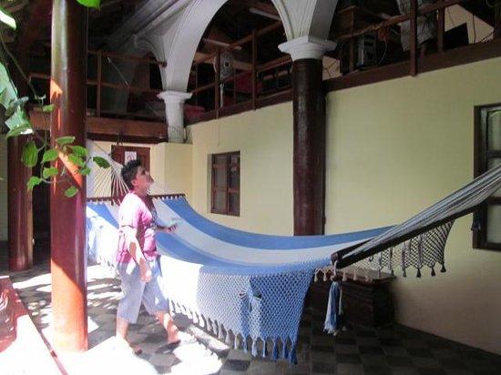 Café de las Sonrisas : Giant hammock