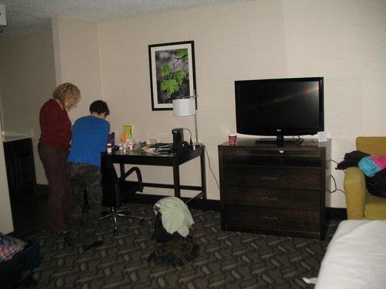 La Quinta Inn & Suites Springfield : big room