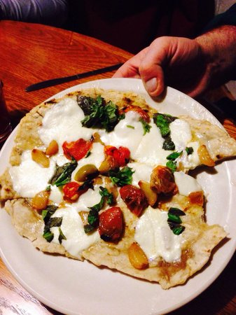 Lisbon, Nova York: Grilled flatbread