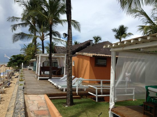 Mar Paraiso Resort: Restaurante na beira do Mar