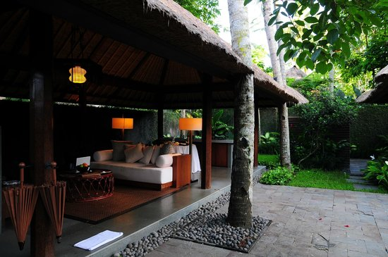 Kayumanis Ubud Private Villa & Spa: 快適なリビング