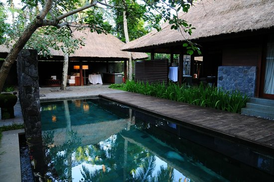 Kayumanis Ubud Private Villa & Spa: プライベートプールとビラ