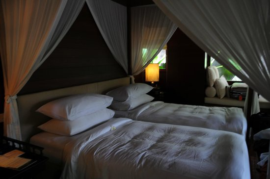 Kayumanis Ubud Private Villa & Spa: ベッドルーム