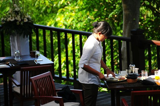 Kayumanis Ubud Private Villa & Spa: レストラン