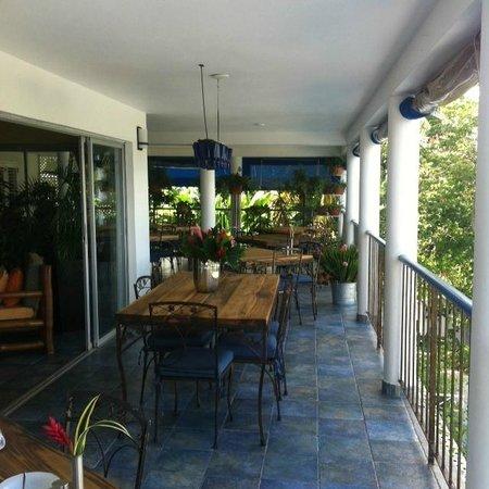 Hotel Mocking Bird Hill: Restaurant Mille fleuers (Breakfast and Dinner)