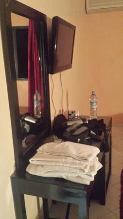 Hotel Mont Gueliz: Detalle aparador