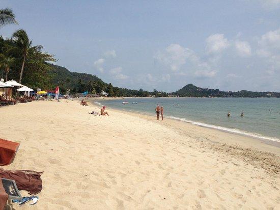 Pavilion Samui Villas & Resort: fantastiskt vacker strand