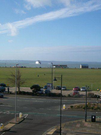 Some of the most sought after views in Southsea await you at the Sandringham Hotel.