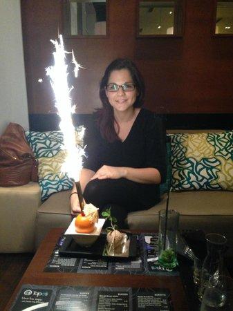 M Lounge: Abschluss mit Dessert