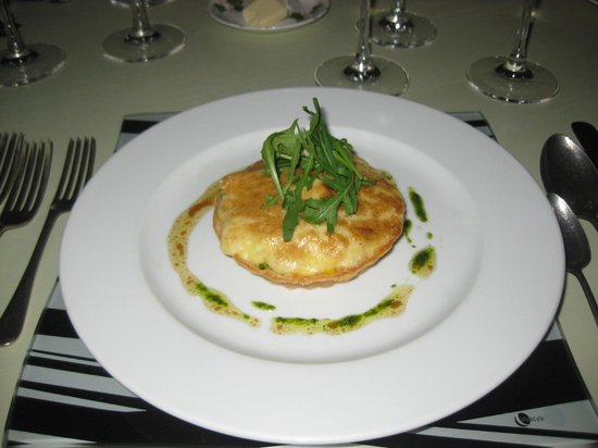 Harry's Place: Smoked Haddock Au Gratin Starter
