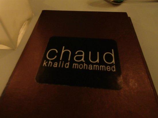 Chaud Menu