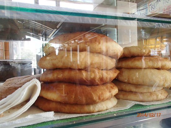 Breakfast Shed: Fried bread