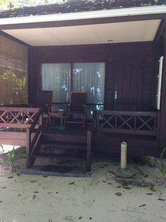 Royal Island Resort & Spa: Our Deck