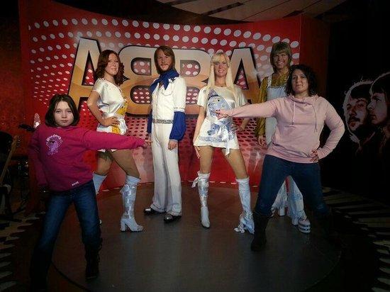 Madame Tussauds Blackpool: Abba