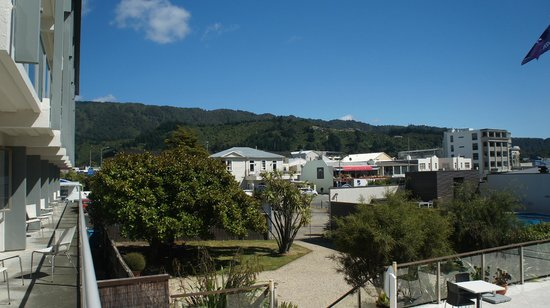 Picton Yacht Club Hotel: View from balcony