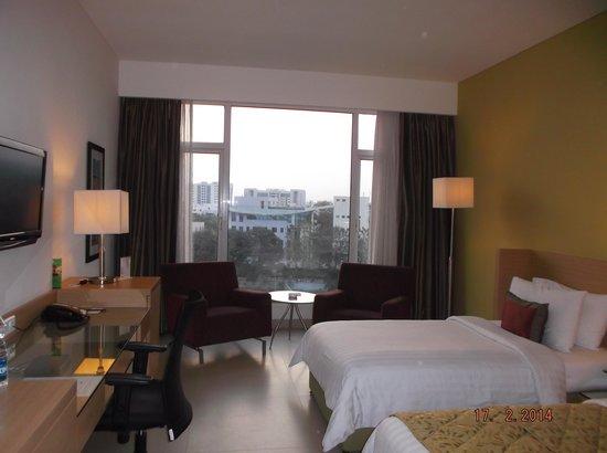 Radha Regent Bengaluru: Room view from entrance
