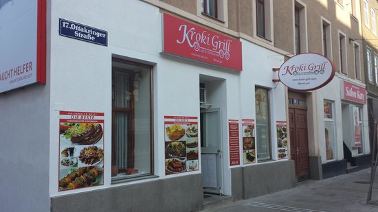 Kroki Grill: von außen