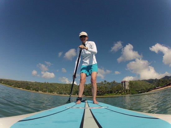 Three Friends Stand Up Paddle Adventures : Underway