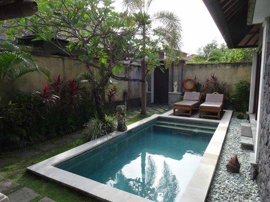The Sanyas Suite Seminyak: Pool and Entrance