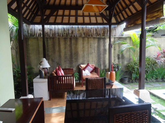 The Sanyas Suite Seminyak: The Living Room