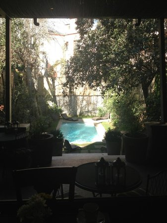 Lastarria Boutique Hotel: piscina do hotel