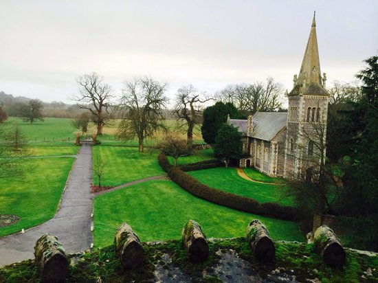 The Elvetham: View from the room