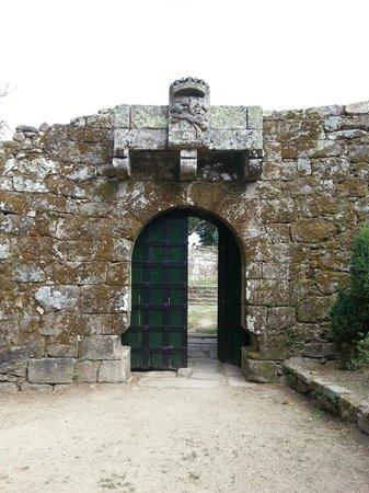 Parque Monte del Castro: Una entrada