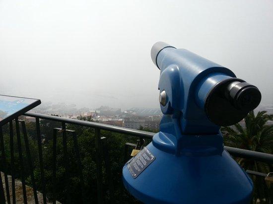 Parque Monte del Castro: vistas