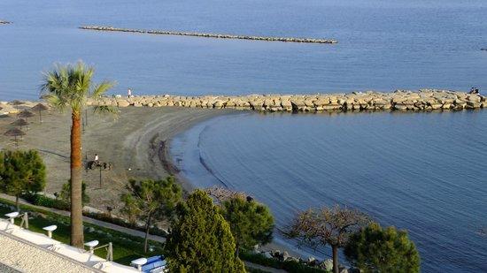 Crowne Plaza Limassol: The hotel's own little beach