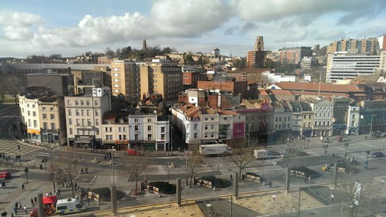 Radisson Blu Hotel, Bristol: View from our room