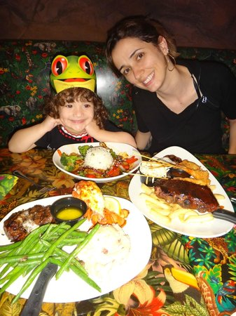 Rainforest Cafe - Disney Animal Kingdom : Pratos