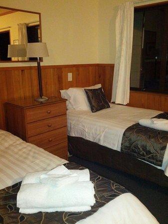 Punakaiki Beachfront Motels: Lettino