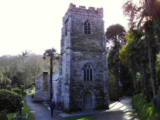 St. Just in Roseland Church: Old