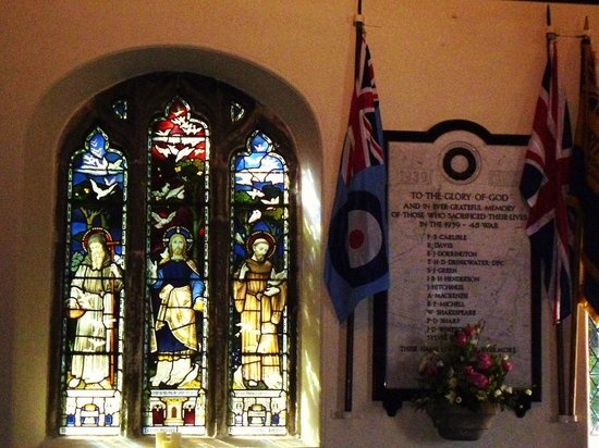 St. Just in Roseland Church: Take time out
