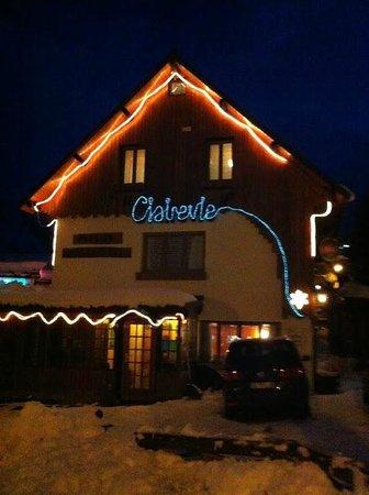 Hotel Pension Clairevie : clairevie de nuit