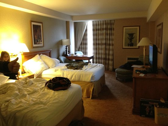 Holiday Inn Express Philadelphia-Midtown : Confortable habitacion
