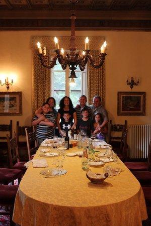 Castello di Monterinaldi: Our Lunch