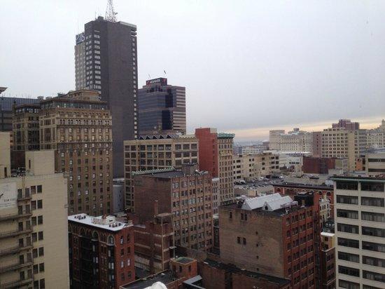 Holiday Inn Express Philadelphia-Midtown: Nuestra vista.