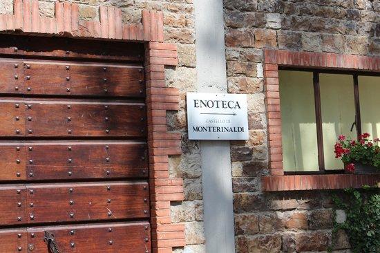 Castello di Monterinaldi: Sign