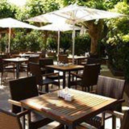 Restaurante Las Delicias: Terraza